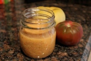 Lowfat Red Wine Tomato Vinaigrette