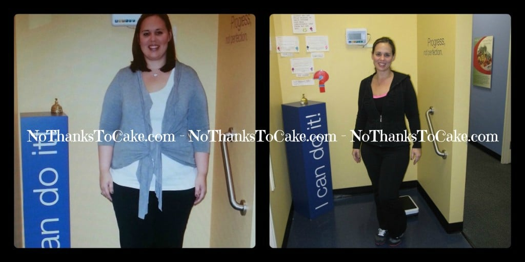 Jenny Craig - Before After | No Thanks to Cake