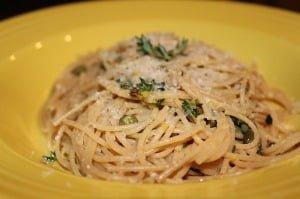 Lemon-Thyme Spaghetti