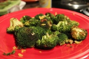 Roasted Broccoli with Gremolata
