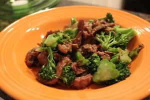 Orange Beef with Broccoli