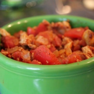 Jenny Craig Recipe Creation:  Turkey Burger Chili