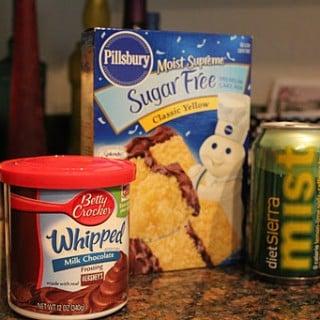 """Healthier Cake (AKA """"Diet Cake"""")"""