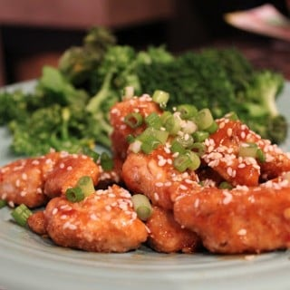 Hungry Girl's Sweet 'n Sticky Sesame Chicken