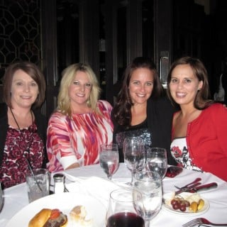 Dinner at Mon Ami Gabi with my favorite Asurion ladies
