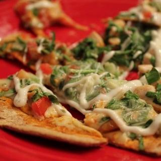 Buffalo Chicken Flatout Pizza