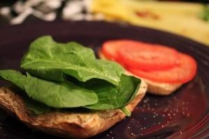 Prosciutto – Sun Dried Tomato – Spinach Stuffed Turkey Burgers