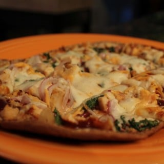 BBQ Chicken Flatout Pizza