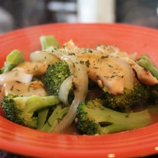 Lemon Chicken with Broccoli