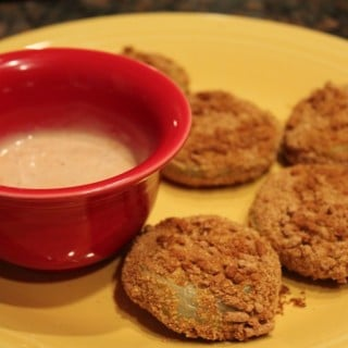 Faux-Fried Green Tomatoes