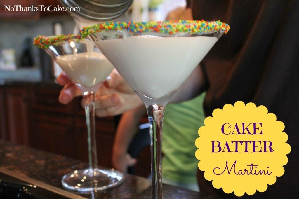 Cake Batter Vodka Drink Recipes