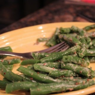 Green Beans with Mustard and Country Herbs
