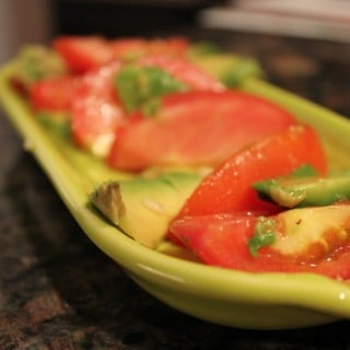 Tomato-Avocado Salad