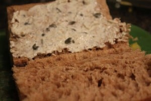 Roasted Beet Sandwich with Greek Yogurt Aoili