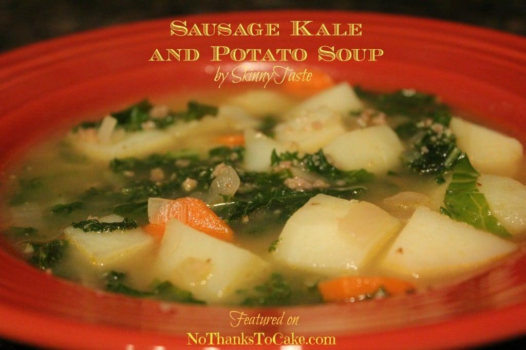 Turkey Sausage, Kale, and Potato Soup