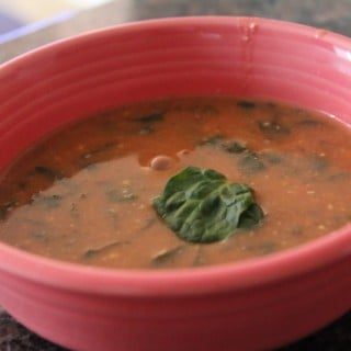 Jenny Craig Recipe Creation: Cheesy Spinach Florentine Soup