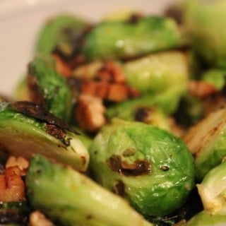 Maple Orange Brussels Sprouts