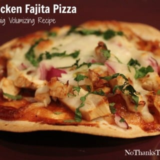 Jenny Craig Recipe Creation:  BBQ Chicken Fajita Pizza