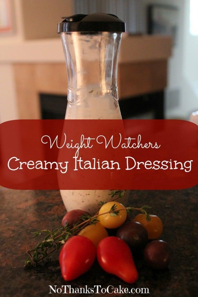 WW Creamy Italian Dressing