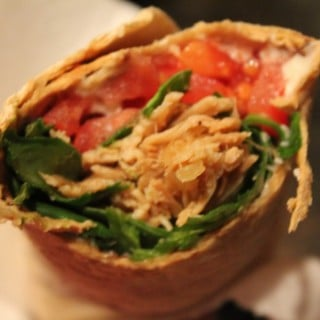 Smoky Pulled Turkey Wraps