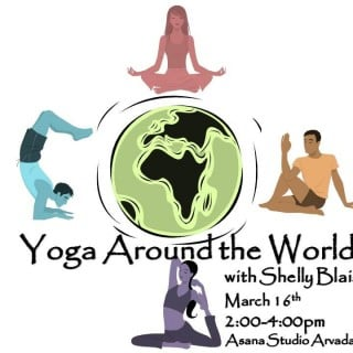 Workout Wednesday - Yoga Around the World | No Thanks to Cake