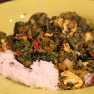 Healthy Chicken Saag
