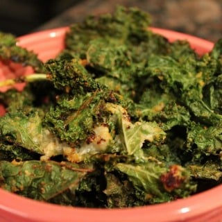 Garlicky Kale Chips | No Thanks to Cake