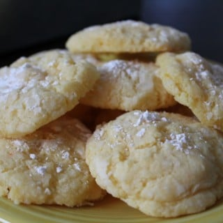 Gooey Butter Cookies {AKA No Thanks to Cookies}