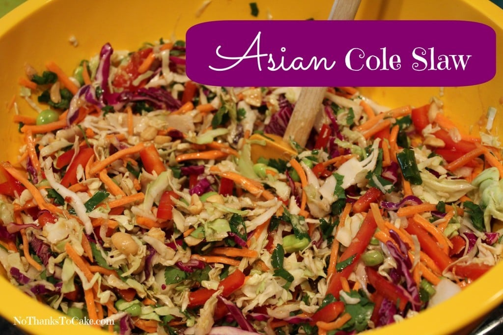 Asian Slaw Recipe — Dishmaps