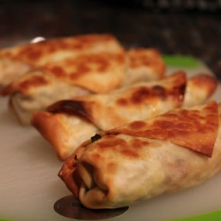 Healthy Vegetarian Egg Rolls