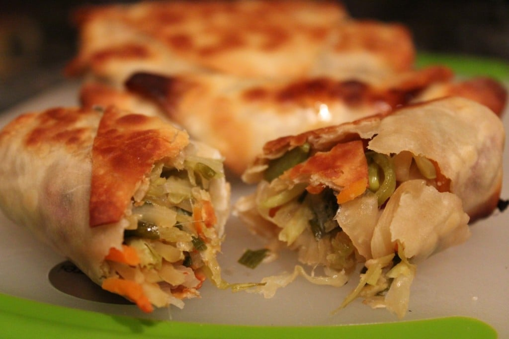 Healthy Vegetarian Egg Rolls | No Thanks to Cake