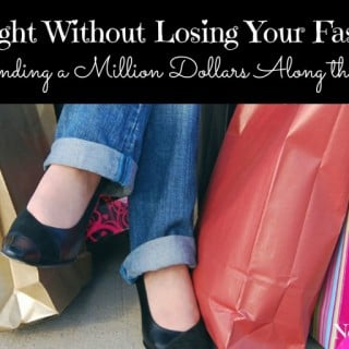 Losing Weight Without Losing Your Fashion Sense {Or Spending a Million Dollars} | No Thanks to Cake