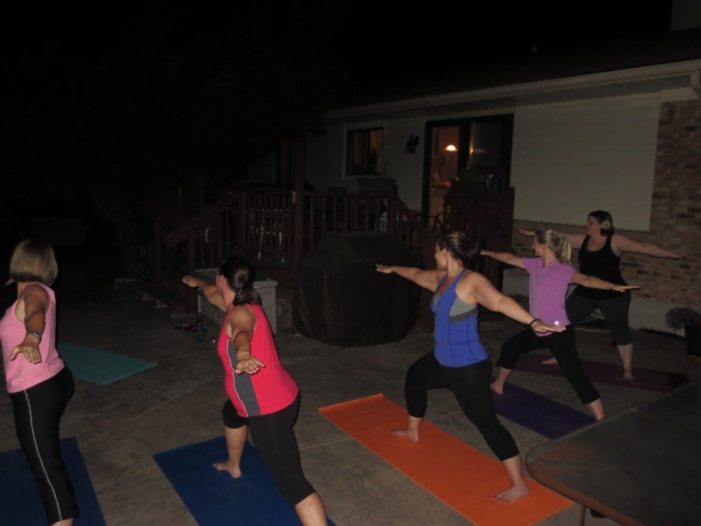 Yoga in the Yard | No Thanks to Cake