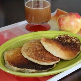 Apple Cider Pancakes
