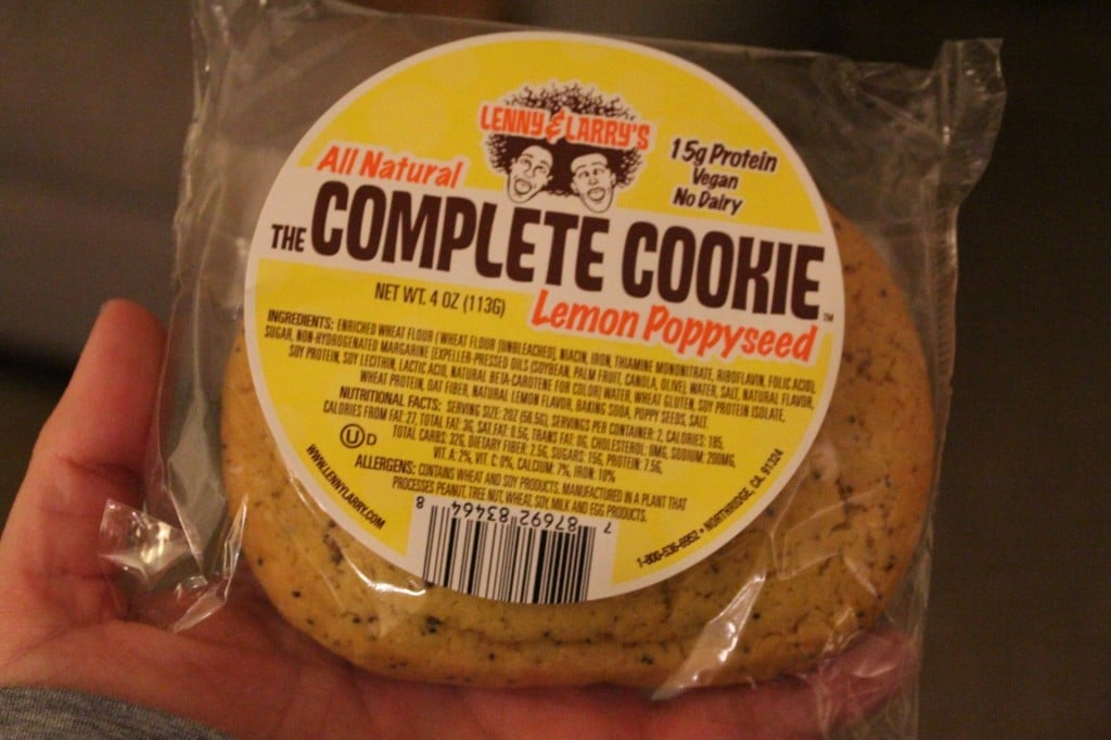 Lenny & Larry's Poppy Seed Complete Cookie | No Thanks to Cake