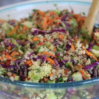 FitSocial Recipe:  Asian-Styled Quinoa Salad
