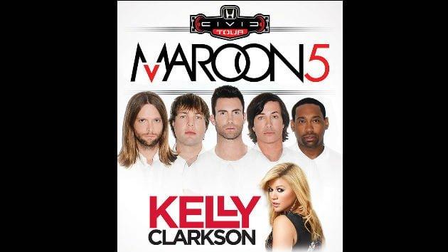 Honda Civic Tour Kelly Clarkson Adam Levine | No Thanks to Cake