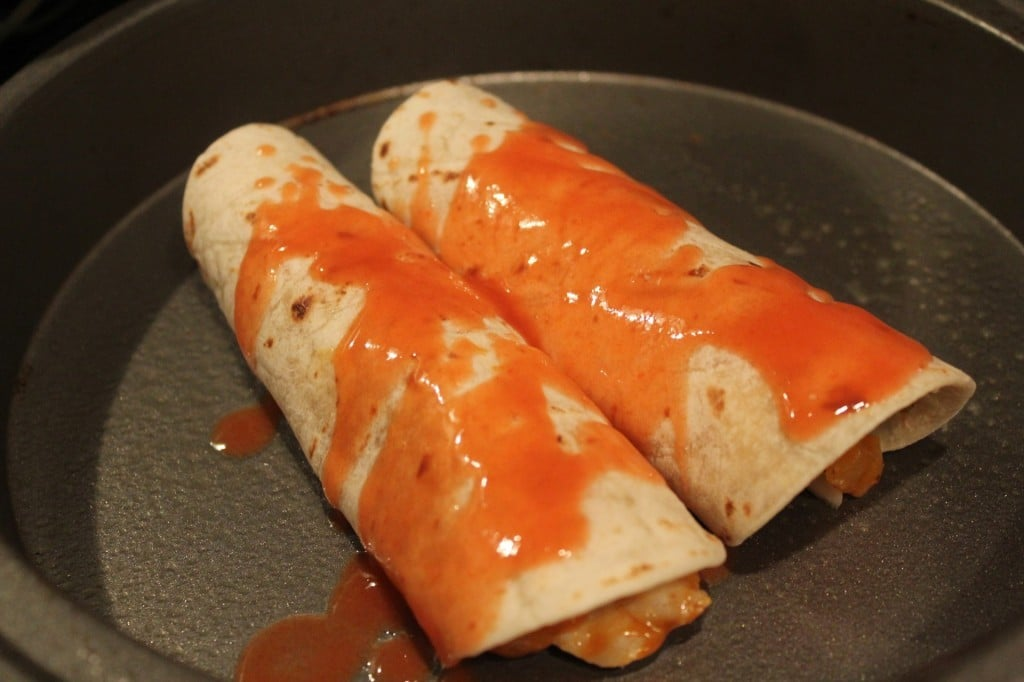 Jenny Volumizing: Buffalo Chicken Enchiladas | No Thanks to Cake
