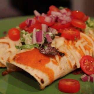 Jenny Craig Recipe Creation: Buffalo Chicken Enchiladas