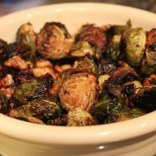 Cranberry-Walnut Roasted Brussels Sprouts