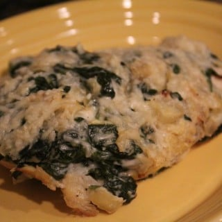 Spinach and Artichoke Dip Chicken