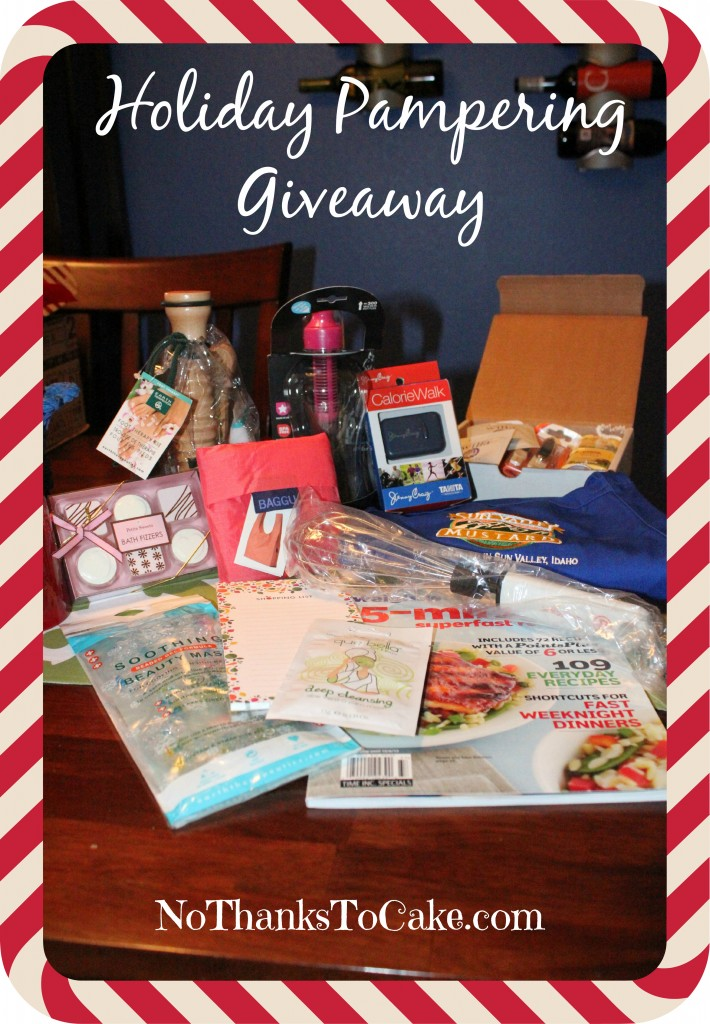 Holiday Pampering Giveaway | No Thanks to Cake