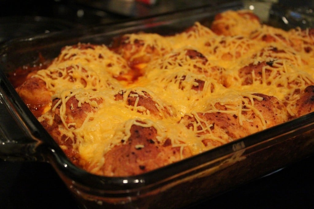 Easy Bubble Up Enchilada Casserole | No Thanks to Cake
