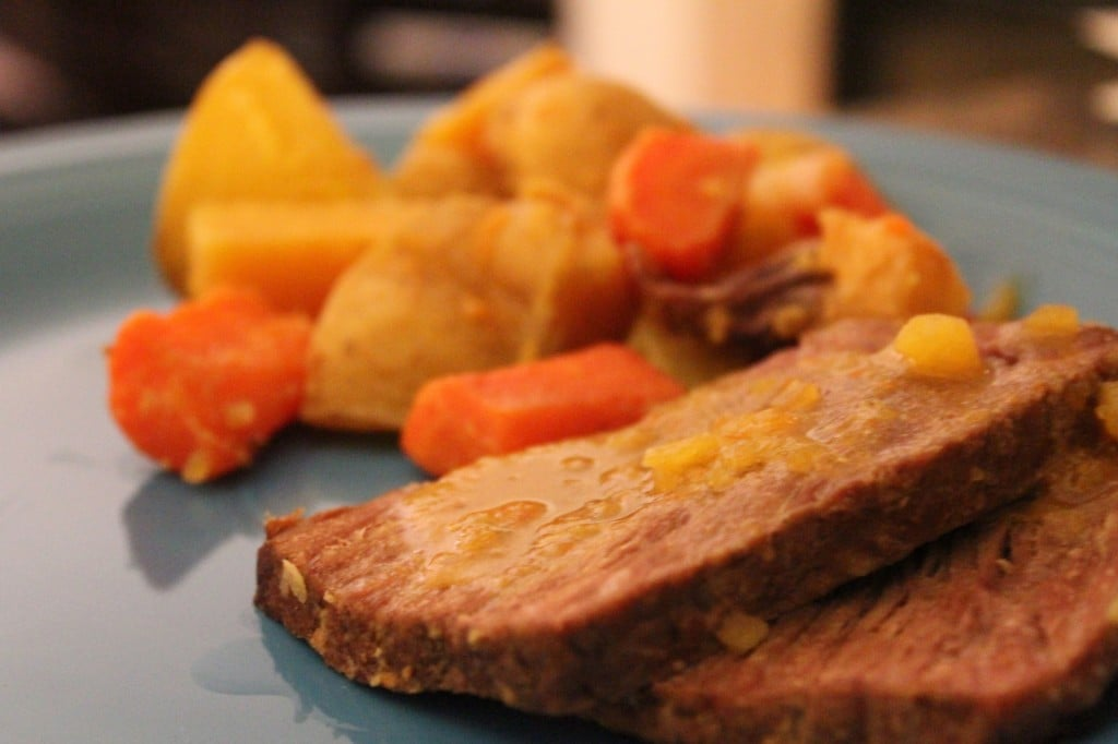 ... -Mustard Pot Roast with Winter Root Vegetables - No Thanks to Cake