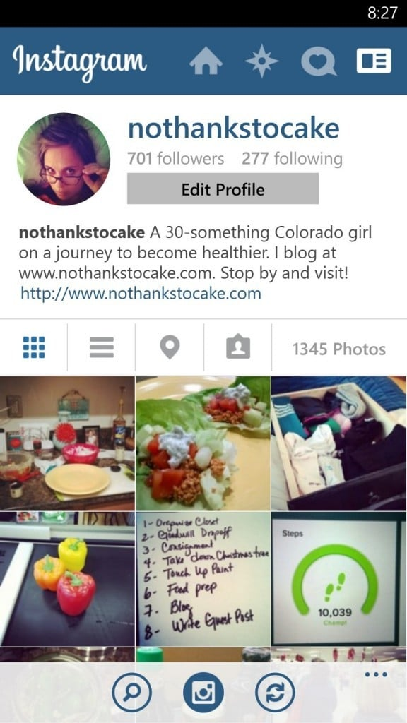 No Thanks to Cake Instagram | No Thanks to Cake