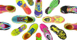 Neon Sneakers | No Thanks to Cake