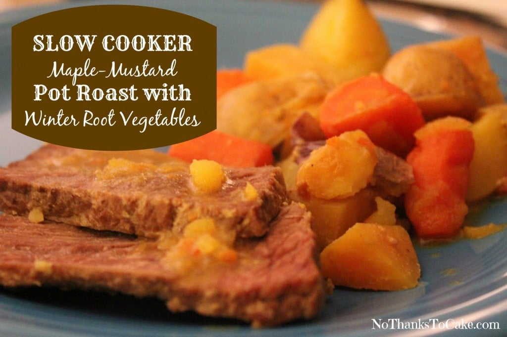 Pot Roast With Winter Root Vegetables Recipe — Dishmaps