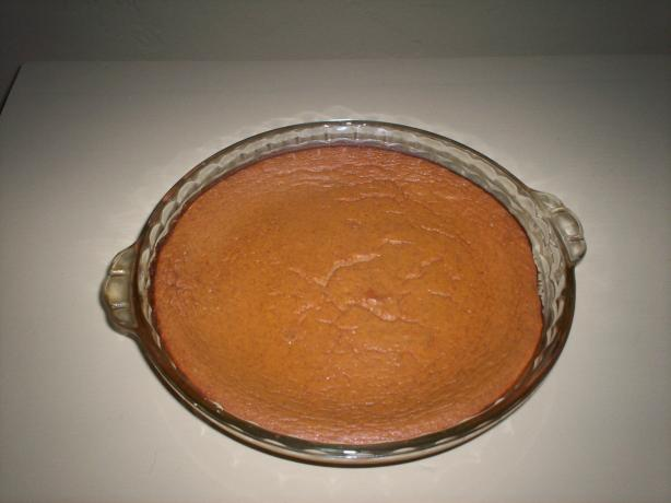 Crustless Pumpkin Pie | No Thanks to Cake