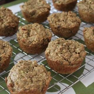 Avocado Green Machine Muffins