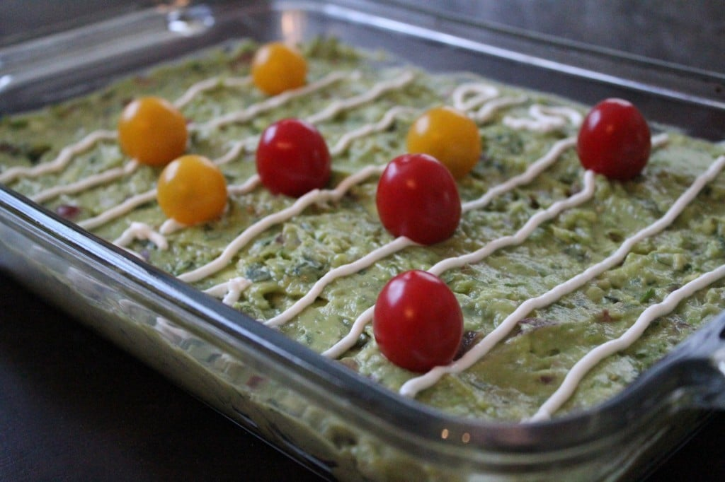 Guacamole Football Field | No Thanks to Cake